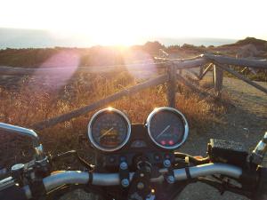 Die Motorradsaison beginnt